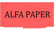 ALFA PAPER